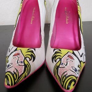 Michael Antonio comic heels
